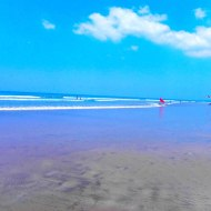 "The first thing to do is run to beach, we stayed at the most fashionable area in Bali ""Seminyak"" - Flores Sea"