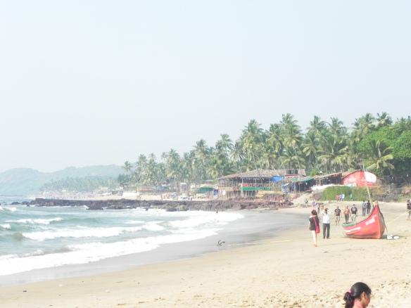 Anjuna Beach Goa India
