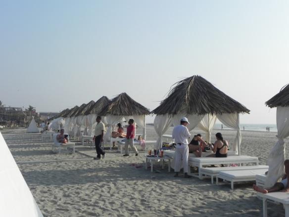 Merbella Beach is the luxury treatment
