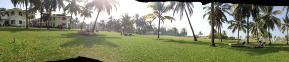 HolidayInn Pool Area