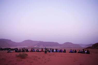 Wadi Rum WadiRum Jordan VisitJordan Camels Sand Bedouin Tea Camp Hike Mountain Blog TravelBlog Sand Feet meditation sunset