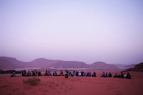 Wadi Rum WadiRum Jordan VisitJordan Camels Sand Bedouin Tea Camp Hike Mountain Blog TravelBlog Sand Feet meditation sunset