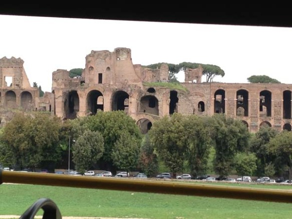 view of Circus Maximus rome