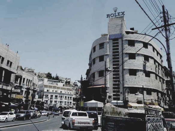 A picture of al balad downtown amman jordan market place