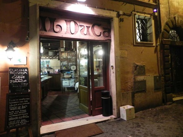 A very beautiful unique little shop at Trastevere