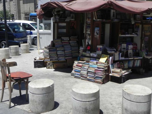A very old bookshop in the middle of the al balad amman central downtown