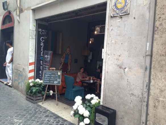 A very urban cute must not be missed coffee and bar