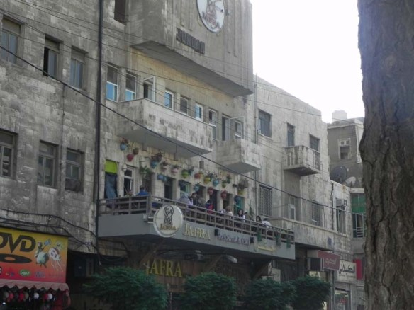 Jafra is one of the popular cafe restaurants at albalad downtown amman