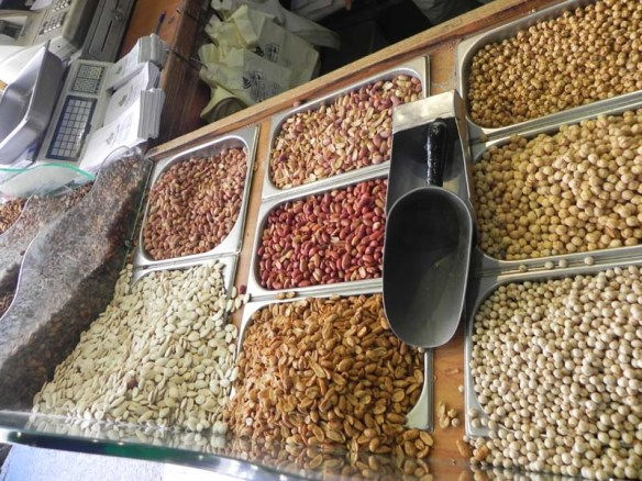 Mixed nuts at albalad downtown Amman