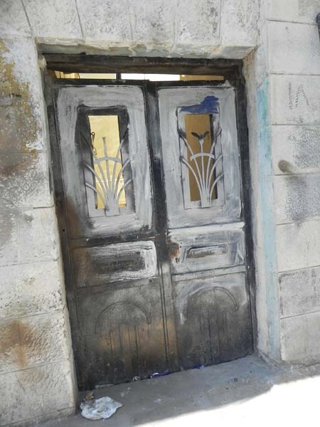 Antique door at albalad Downtown Amman