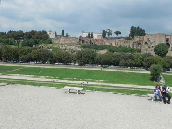 field of Circus Maximus rome italy