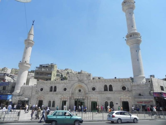 Jamea Al Hussein Mosque downtown Amman