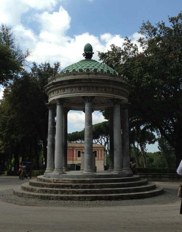 Tempietto di Diana a Villa Borghese - Temple of Diana