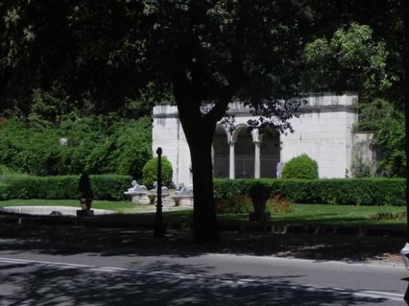Villa Borghese gardens, Rome Piazza di Siena, Villa Borghese