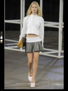 Alexander Wang tailored layered classic fun symphony color mix and match print hip funky pop Spring Summer 2014 fashionweek paris london milan newyork nyc-1