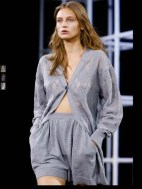 Alexander Wang tailored layered classic fun symphony color mix and match print hip funky pop Spring Summer 2014 fashionweek paris london milan newyork nyc-8