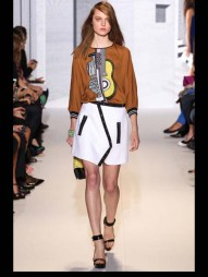 Andrew Gn music fun symphony color mix and match print hip funky pop Spring Summer 2014 fashionweek paris london milan newyork nyc-14_1