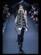 Ann Demeulemeester Hip hippie sheer chiffon elegance tailored tweed emroiderry sequence print hip funky pop Spring Summer 2014 fashionweek paris london milan newyork nyc-2_1