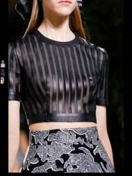 Balenciaga elegance tailored tweed emroiderry sequence print hip funky pop Spring Summer 2014 fashionweek paris london milan newyork nyc-11