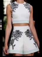 Balenciaga elegance tailored tweed emroiderry sequence print hip funky pop Spring Summer 2014 fashionweek paris london milan newyork nyc-13