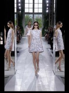 Balenciaga elegance tailored tweed emroiderry sequence print hip funky pop Spring Summer 2014 fashionweek paris london milan newyork nyc-14