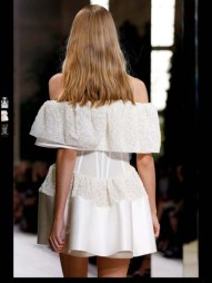 Balenciaga elegance tailored tweed emroiderry sequence print hip funky pop Spring Summer 2014 fashionweek paris london milan newyork nyc-23