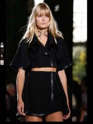 Balenciaga elegance tailored tweed emroiderry sequence print hip funky pop Spring Summer 2014 fashionweek paris london milan newyork nyc-24