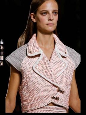 Balenciaga elegance tailored tweed emroiderry sequence print hip funky pop Spring Summer 2014 fashionweek paris london milan newyork nyc-3