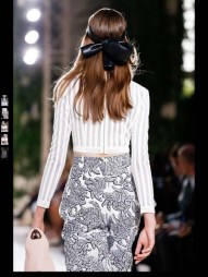 Balenciaga elegance tailored tweed emroiderry sequence print hip funky pop Spring Summer 2014 fashionweek paris london milan newyork nyc-9