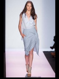 BCBG Max Azria elegance tailored tweed emroiderry sequence print hip funky pop Spring Summer 2014 fashionweek paris london milan newyork nyc-3
