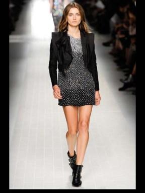 Blumarine dark gothic elegant classic tailored ruffles earthy funky pop Spring Summer 2014 fashionweek paris london milan newyork nyc-13