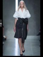 Bottega Veneta dark gothic elegant classic tailored ruffles earthy funky pop Spring Summer 2014 fashionweek paris london milan newyork nyc-1