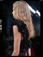 Bottega Veneta dark gothic elegant classic tailored ruffles earthy funky pop Spring Summer 2014 fashionweek paris london milan newyork nyc-9