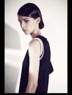 Bouchra Jarrar stripes tailored geometric costumized elegant chic hip funky pop Spring Summer 2014 fashionweek paris london milan newyork nyc-1