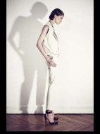 Bouchra Jarrar stripes tailored geometric costumized elegant chic hip funky pop Spring Summer 2014 fashionweek paris london milan newyork nyc-2