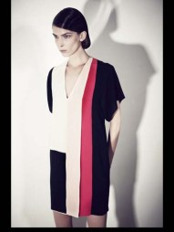 Bouchra Jarrar stripes tailored geometric costumized elegant chic hip funky pop Spring Summer 2014 fashionweek paris london milan newyork nyc-3