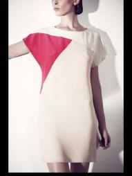 Bouchra Jarrar stripes tailored geometric costumized elegant chic hip funky pop Spring Summer 2014 fashionweek paris london milan newyork nyc-4