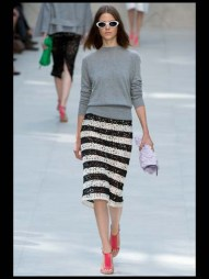 Burberry Prorsum stripes tailored geometric costumized elegant chic hip funky pop Spring Summer 2014 fashionweek paris london milan newyork nyc-12