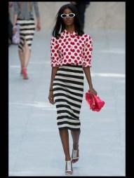 Burberry Prorsum stripes tailored geometric costumized elegant chic hip funky pop Spring Summer 2014 fashionweek paris london milan newyork nyc-13