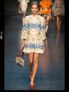 Dolce & Gabbana collection theme roman romanian empire Fashion Week Spring Summer 2014 paris milan london nyc newyork -103