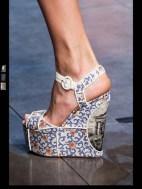 Dolce & Gabbana collection theme roman romanian empire Fashion Week Spring Summer 2014 paris milan london nyc newyork -105