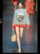 Dolce & Gabbana collection theme roman romanian empire Fashion Week Spring Summer 2014 paris milan london nyc newyork -112