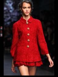 Dolce & Gabbana collection theme roman romanian empire Fashion Week Spring Summer 2014 paris milan london nyc newyork -113