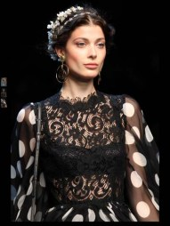 Dolce & Gabbana collection theme roman romanian empire Fashion Week Spring Summer 2014 paris milan london nyc newyork -114