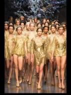 Dolce & Gabbana collection theme roman romanian empire Fashion Week Spring Summer 2014 paris milan london nyc newyork -117