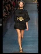 Dolce & Gabbana collection theme roman romanian empire Fashion Week Spring Summer 2014 paris milan london nyc newyork -84