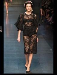 Dolce & Gabbana collection theme roman romanian empire Fashion Week Spring Summer 2014 paris milan london nyc newyork -88