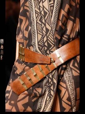 Donna Karen exotic tribal hippie casual fashion week spring summer 2014 milan paris london nyc newyork trend-14