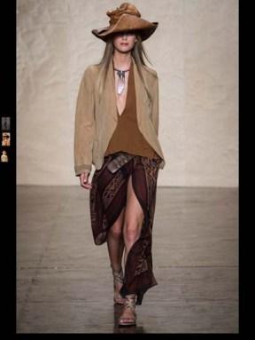 Donna Karen exotic tribal hippie casual fashion week spring summer 2014 milan paris london nyc newyork trend-15