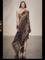 Donna Karen exotic tribal hippie casual fashion week spring summer 2014 milan paris london nyc newyork trend-22